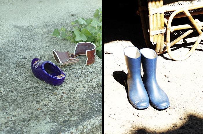 08・青い靴
