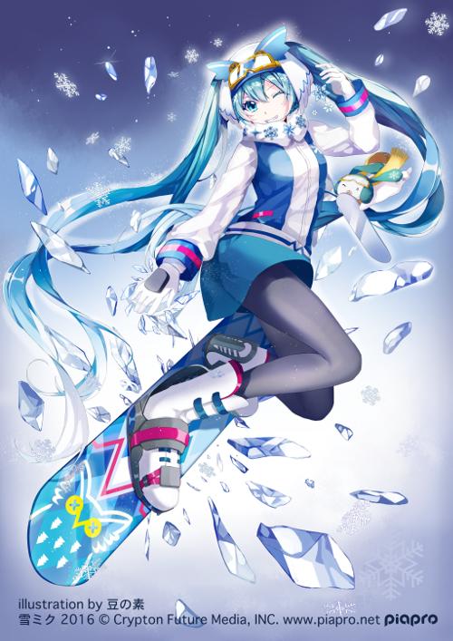 雪ミク2016
