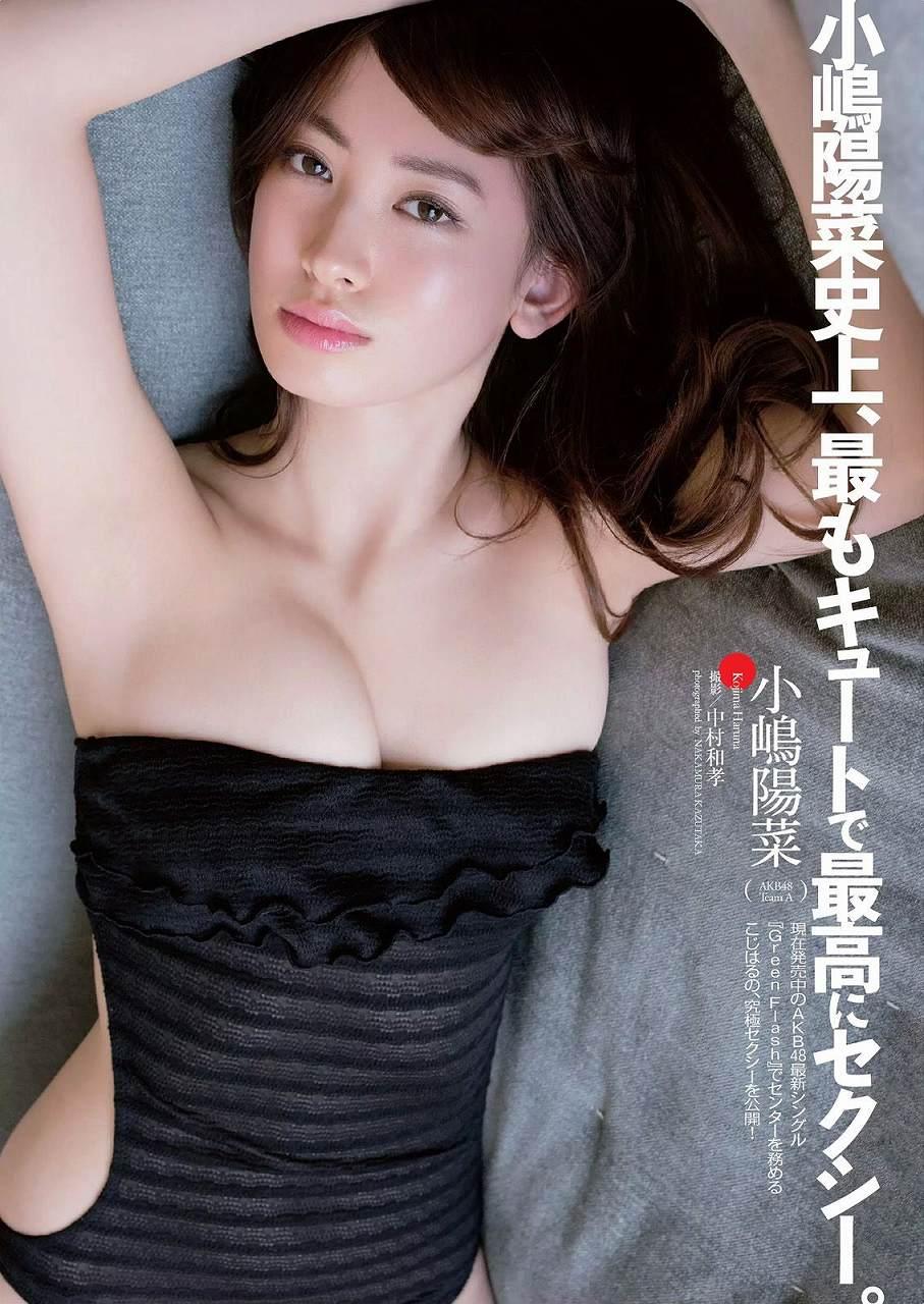 小嶋陽菜の水着グラビア