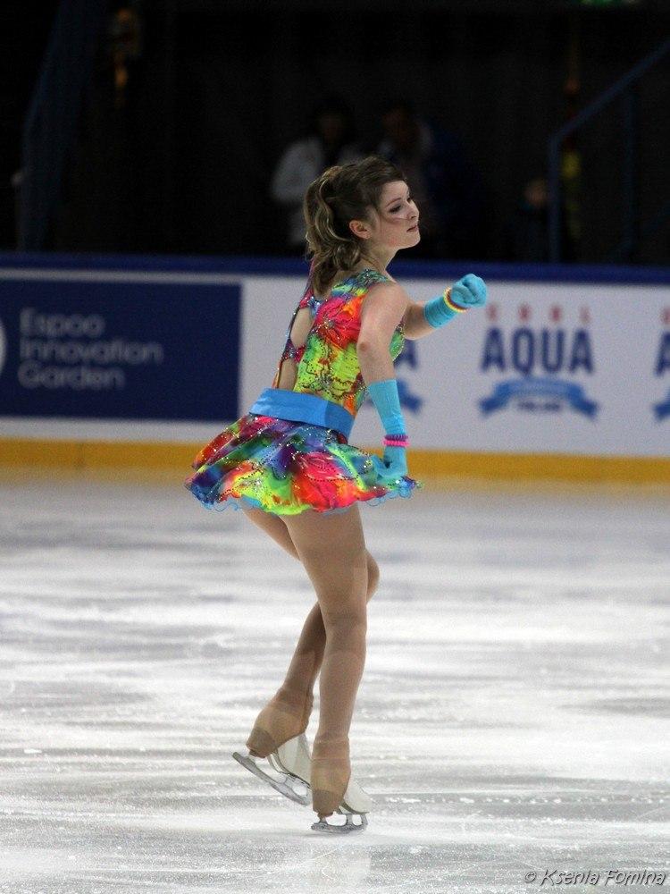 17歳、太ってきたユリア・リプニツカヤ