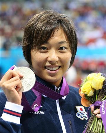 水泳の鈴木聡美選手