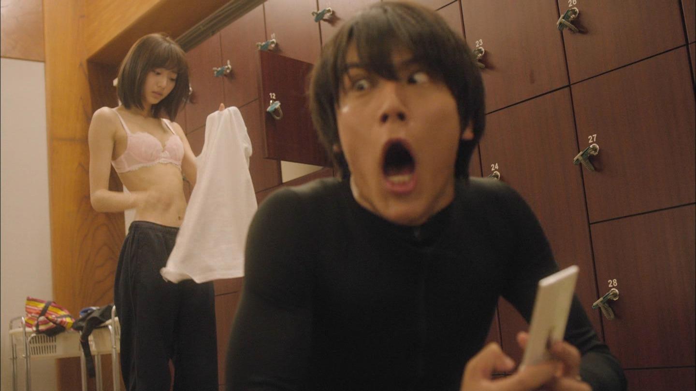 ドラマ「監獄学園 プリズンスクール」脱衣シーン、武田玲奈の下着姿