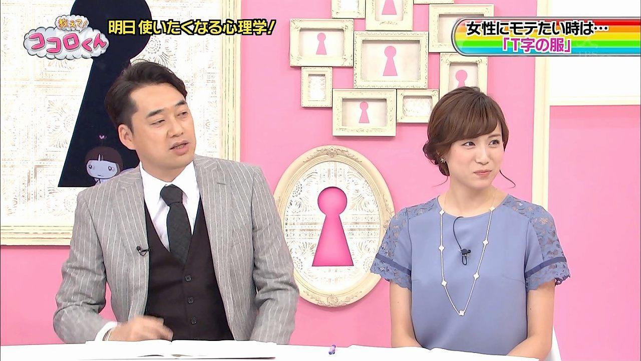 TBS「教えて!ココロくん」の笹川友里アナ