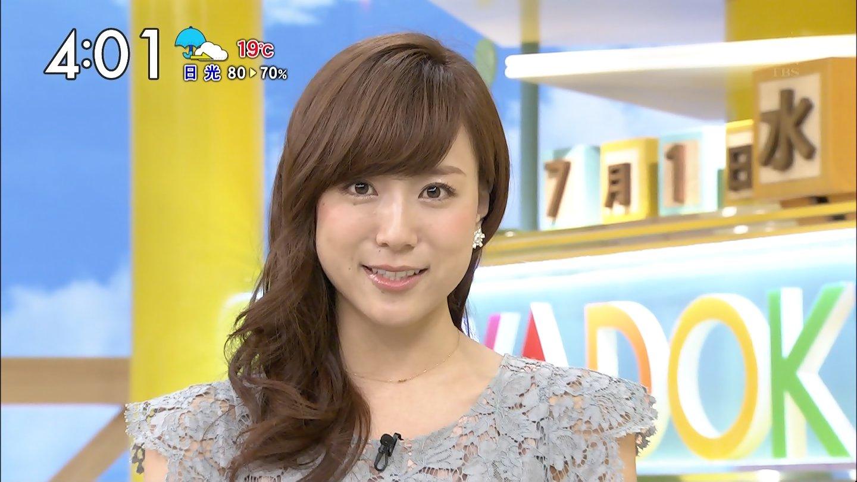 TBS「はやドキ!」に出演する笹川友里アナ