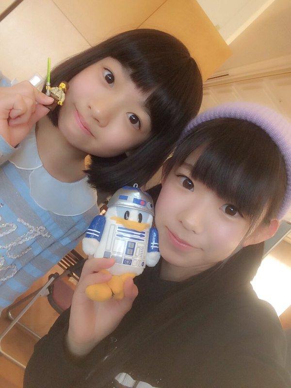 11歳の小学生と19歳の長澤茉里奈のツーショット