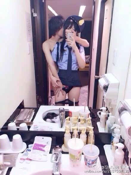 流出した中国人コスプレイヤーのハメ撮り画像