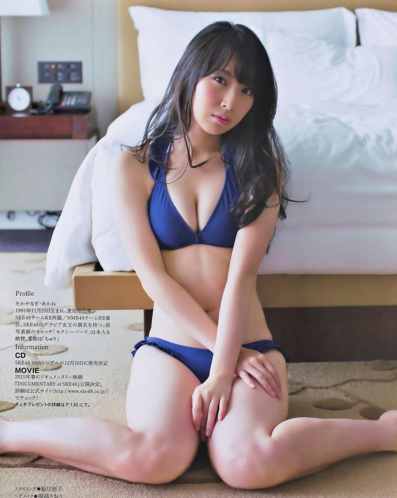 SKE48・高柳明音の水着グラビア