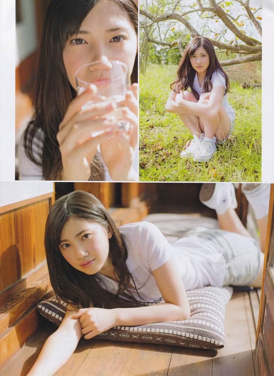 「月刊エンタメ」2015年12月号、SKE48・北川綾巴のグラビア