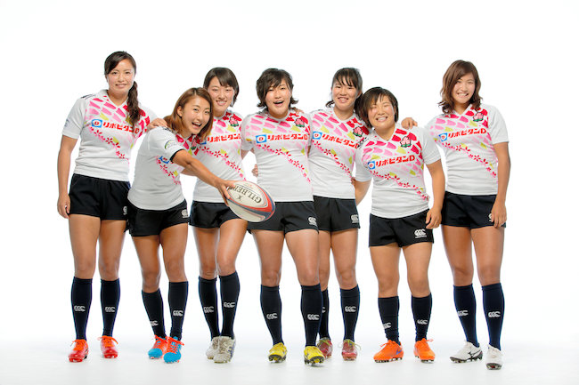 女子ラグビー日本代表、サクラセブンズの選手