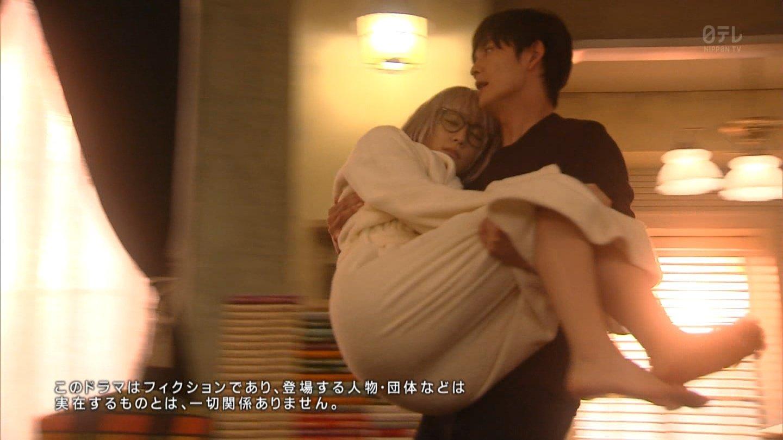 ドラマ「掟上今日子の備忘録」で岡田将生にお姫様抱っこされた新垣結衣のデカケツ