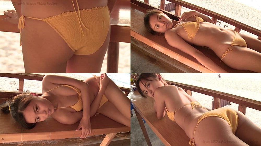小島瑠璃子のイメージビデオDVD「こじるりX3参上!!!」キャプチャ画像