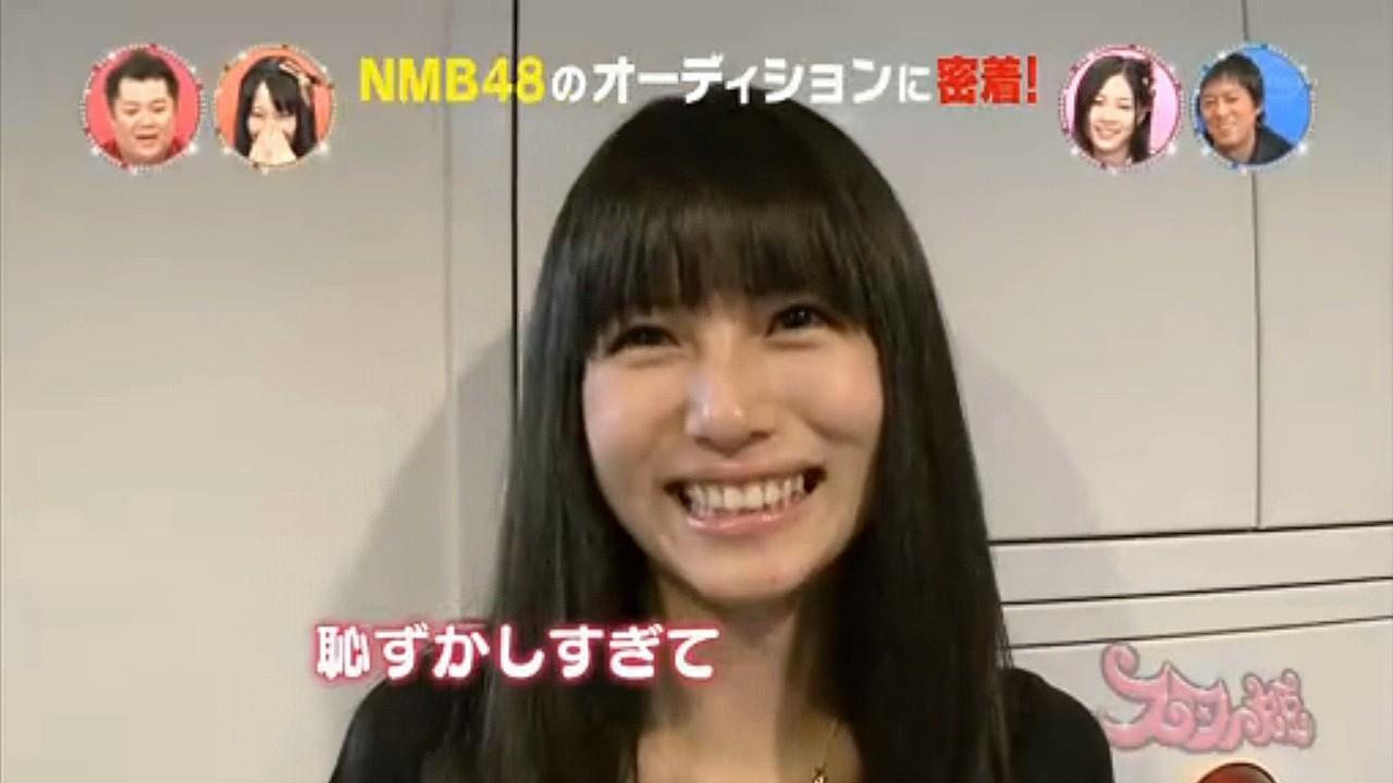 NMB48のオーディションを受けた時の橋本涼