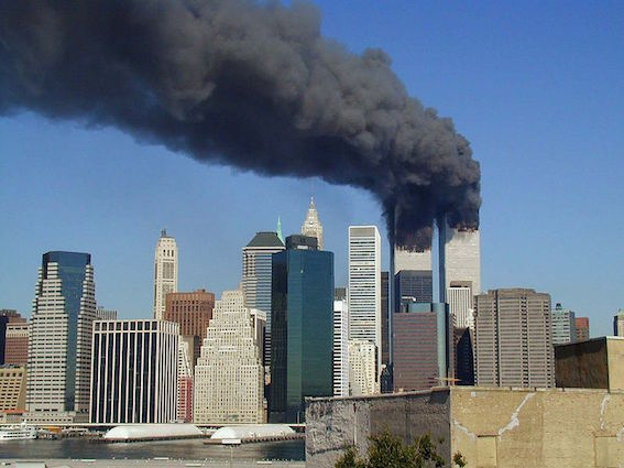 アメリカ同時多発テロ写真