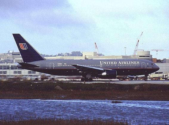 ユナイテッド航空175便 写真