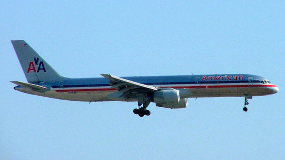 アメリカン航空77便写真