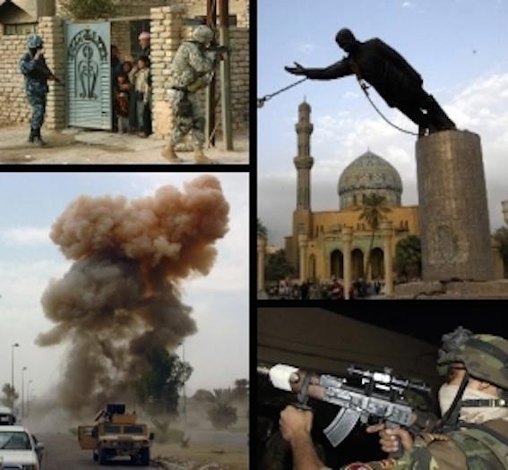 イラク戦争写真