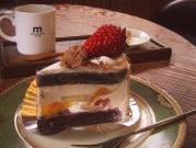 木馬のケーキセット