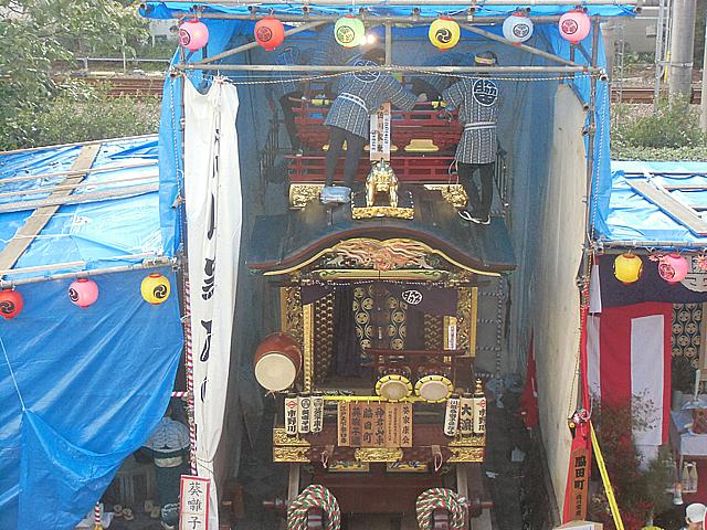 脇田町の山車