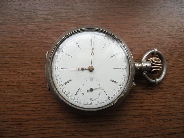 入手した懐中時計