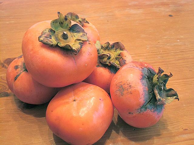 おみやげの柿