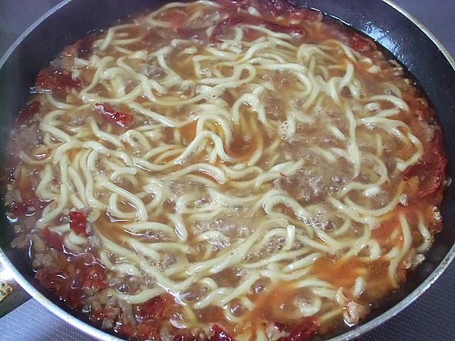 中華麺投入