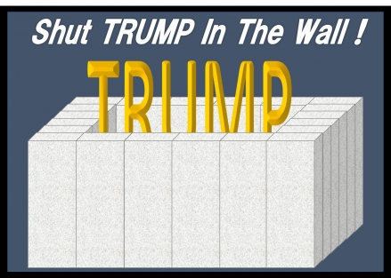 Shut TRUMP In The Wall