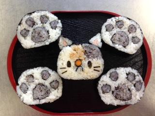 三毛猫と肉球