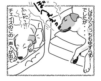 羊の国のラブラドール絵日記シニア!!「夢の中でもライバル!?」4