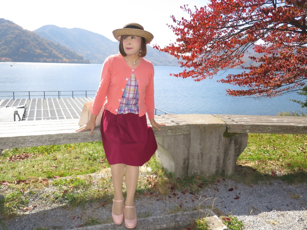 中禅寺湖オレンジカーデA(1)