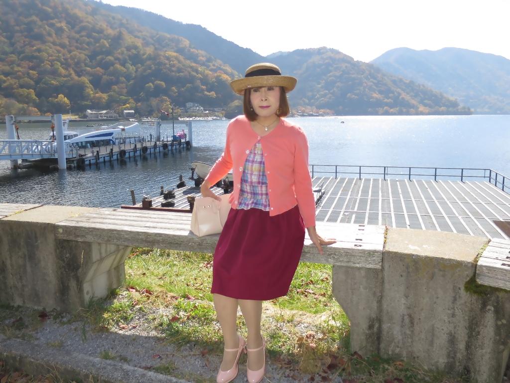 中禅寺湖オレンジカーデA(3)