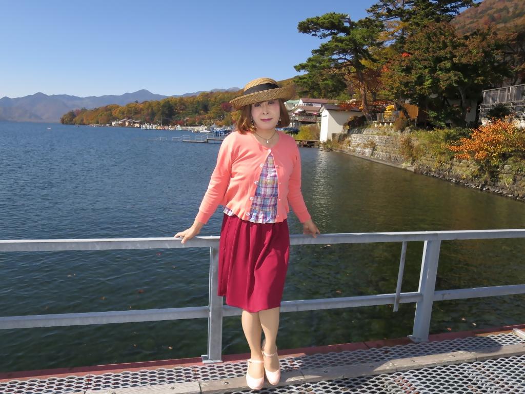 中禅寺湖オレンジカーデA(4)