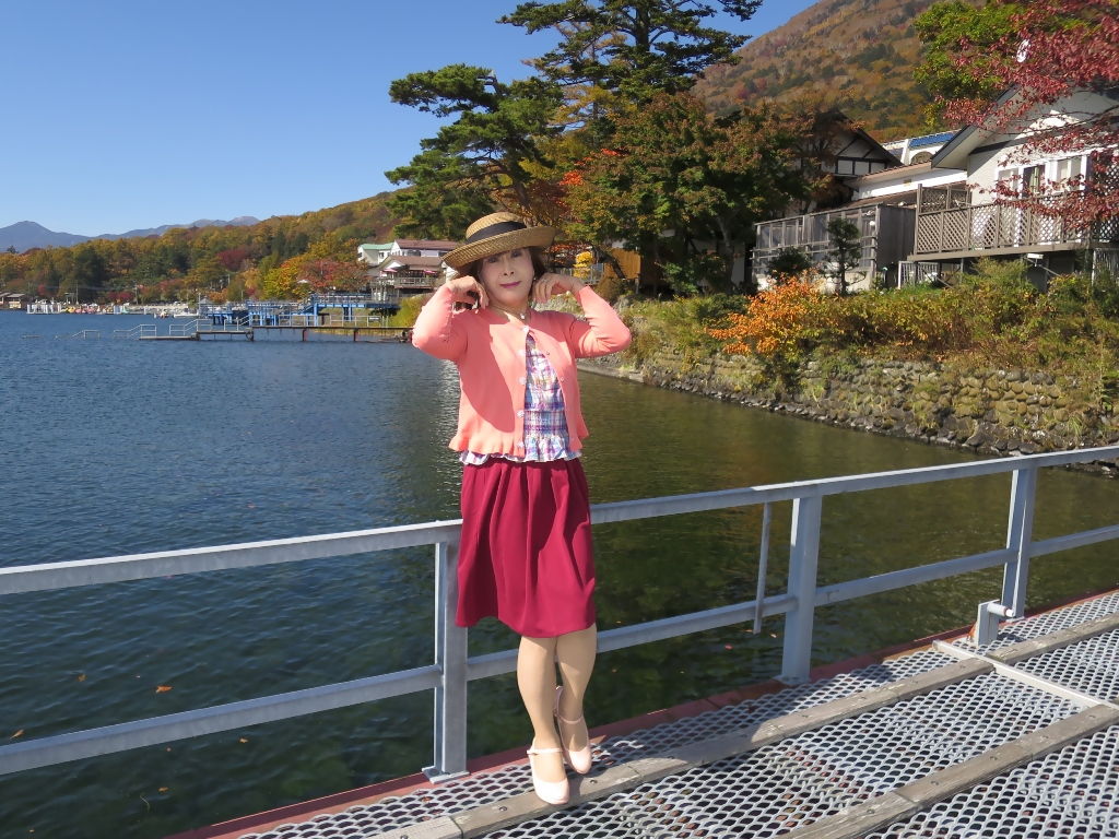 中禅寺湖オレンジカーデA(5)