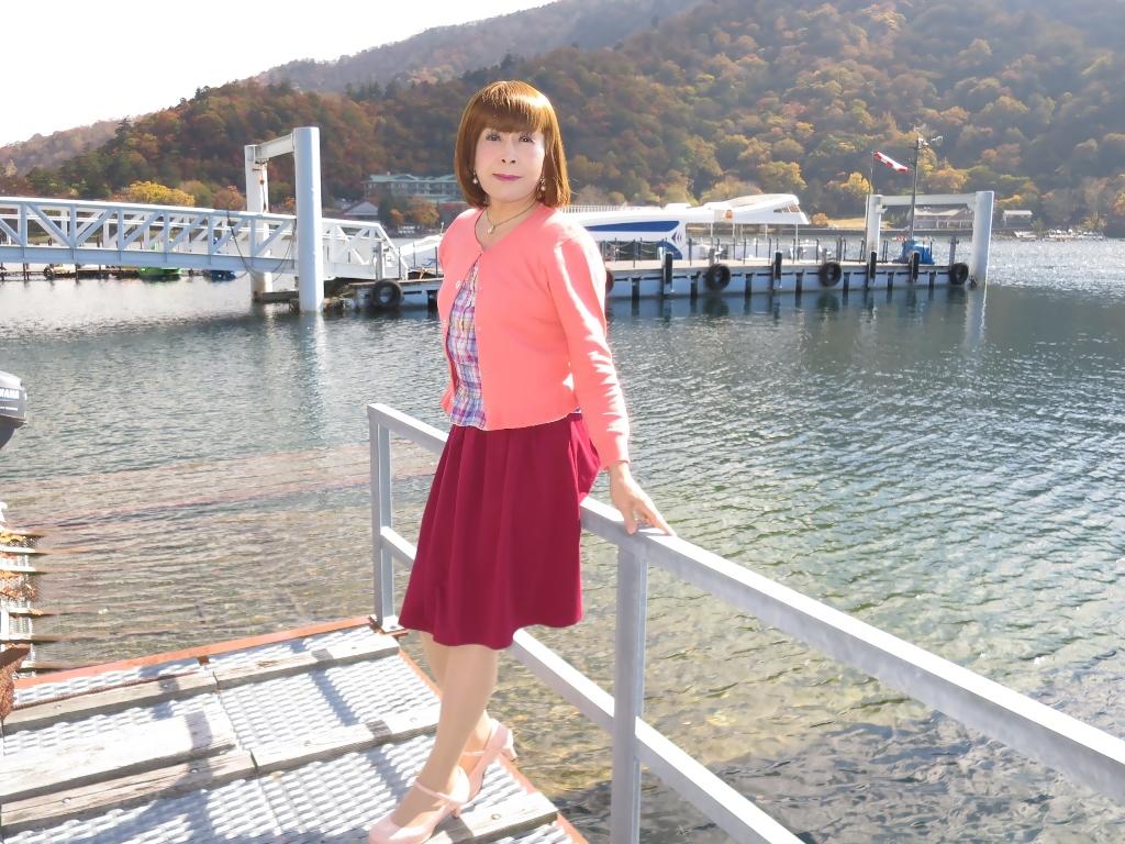 中禅寺湖オレンジカーデA(7)