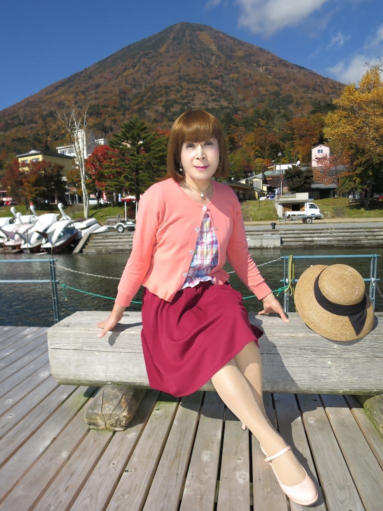 中禅寺湖オレンジカーデF(2)