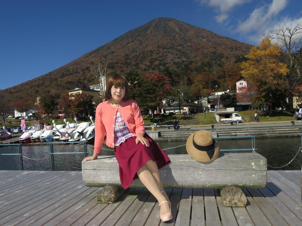 中禅寺湖オレンジカーデF(5)