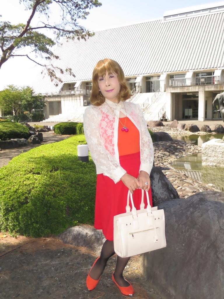 オレンジトップ赤フレアA(4)
