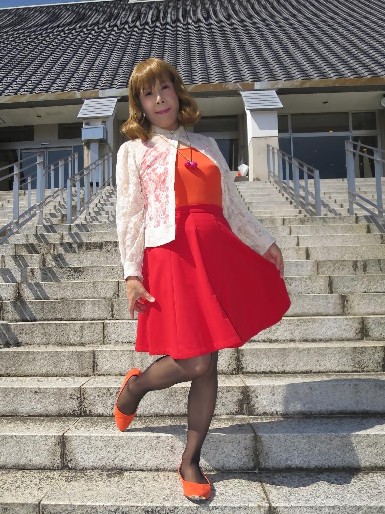 オレンジトップ赤フレアA(7)