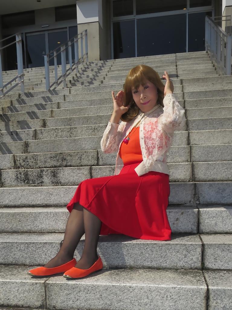 オレンジトップ赤フレアB(7)