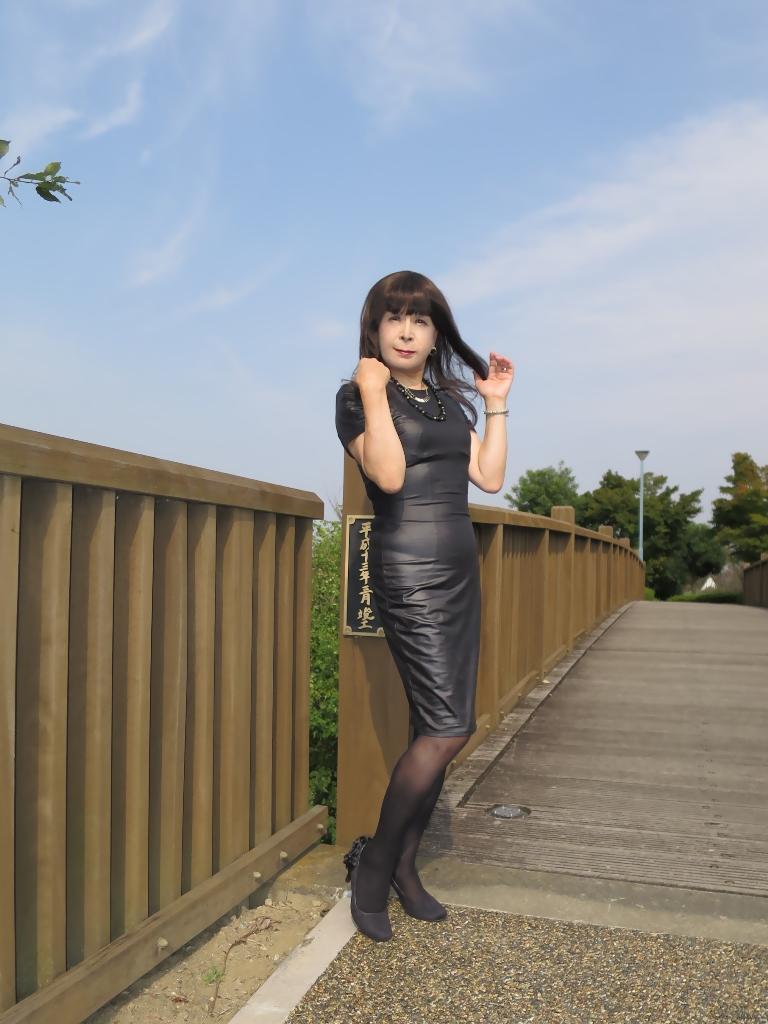 黒タイトワンピ★A(2)