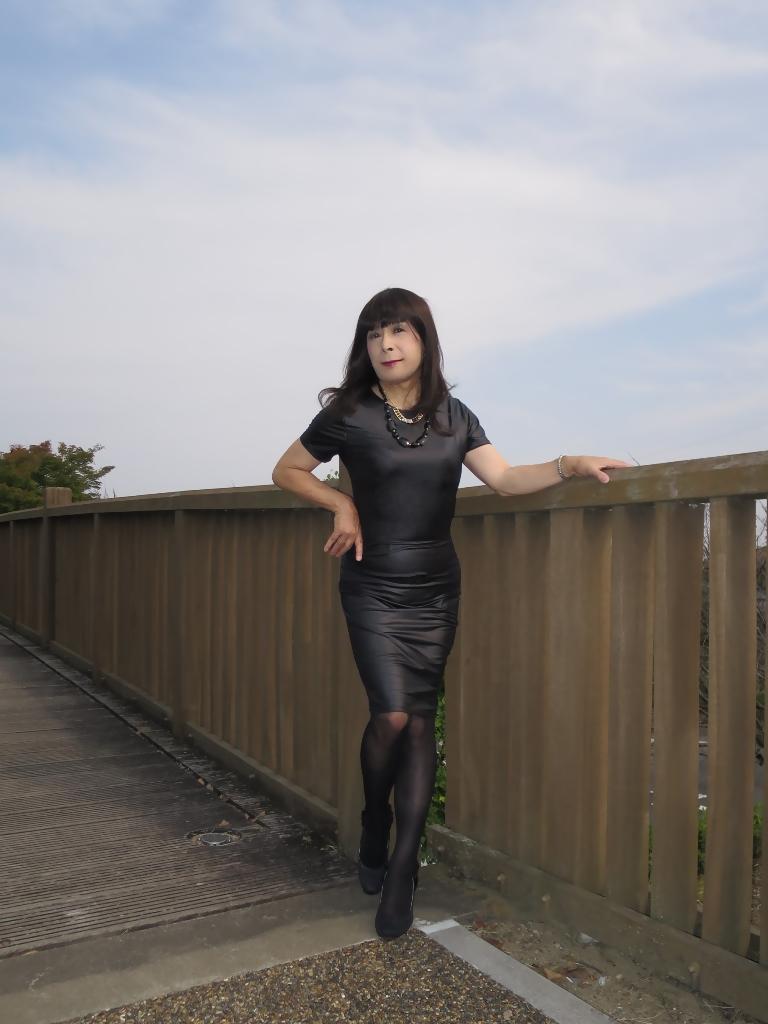 黒タイトワンピ★A(5)