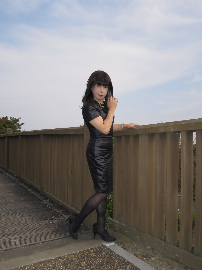 黒タイトワンピ★A(6)