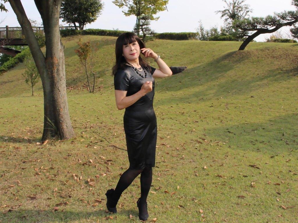 ★黒タイトドレスB(5)