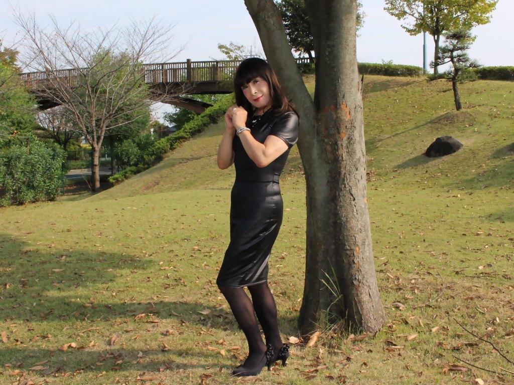 ★黒タイトドレスB(9)