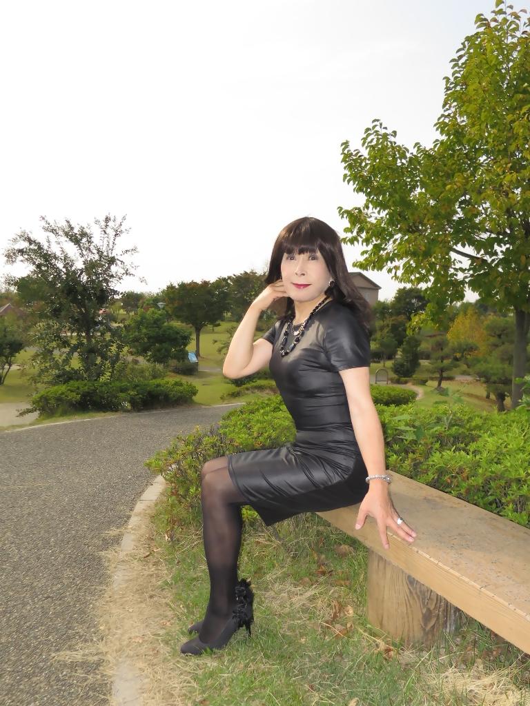 黒タイトワンピB(3)