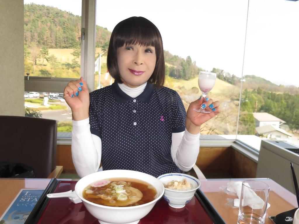紺ポロシャツゴルフG(2)