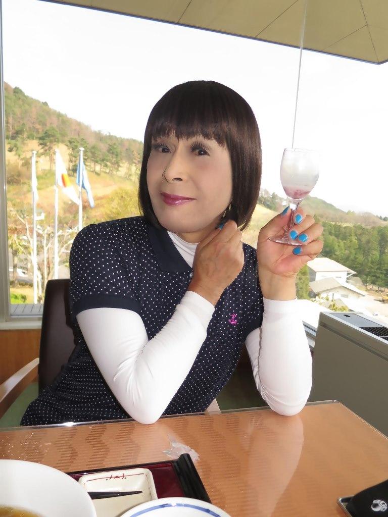紺ポロシャツゴルフG(4)