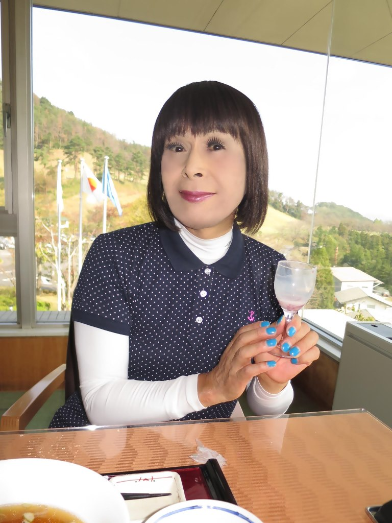 紺ポロシャツゴルフG(5)