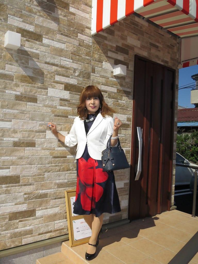 紺ワンピ白ジャケットA(3)