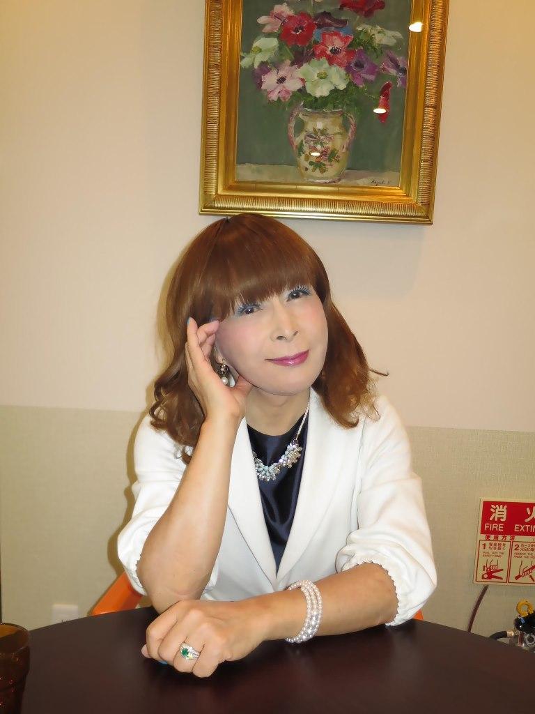 紺ワンピ白ジャケットA(5)