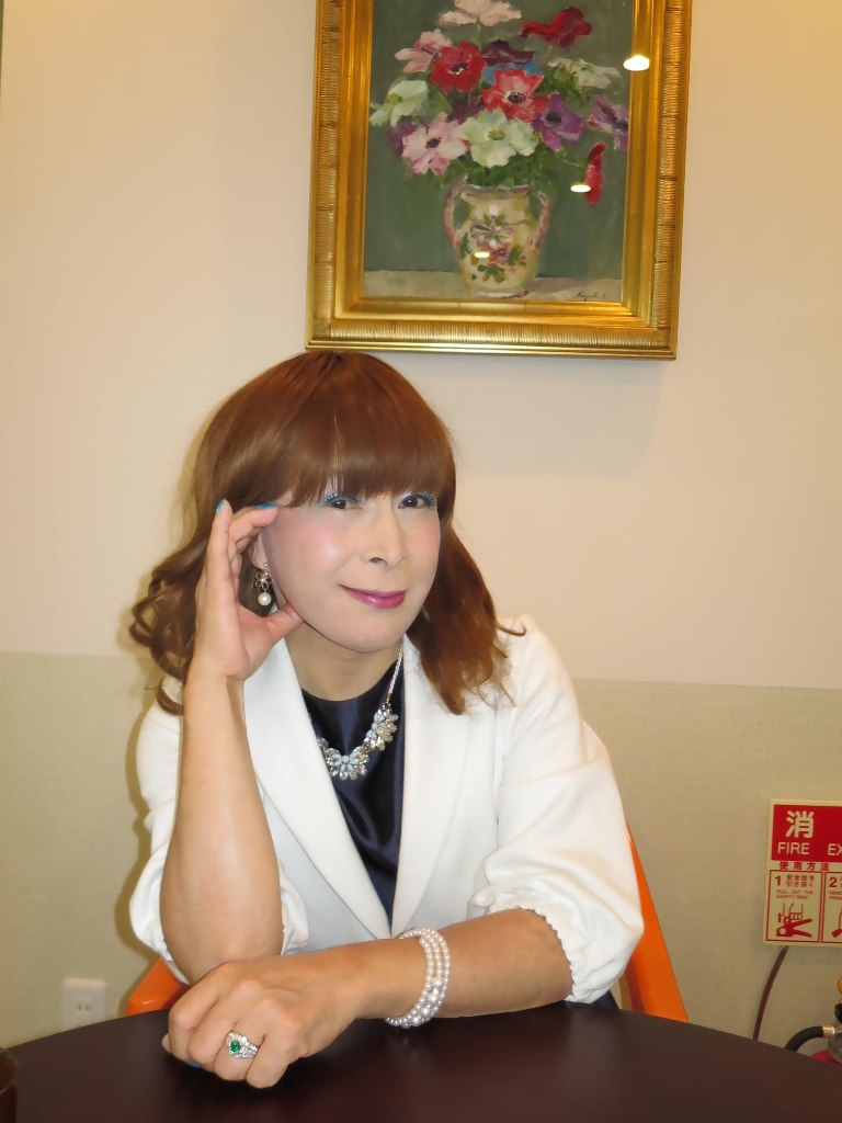 紺ワンピ白ジャケットA(6)